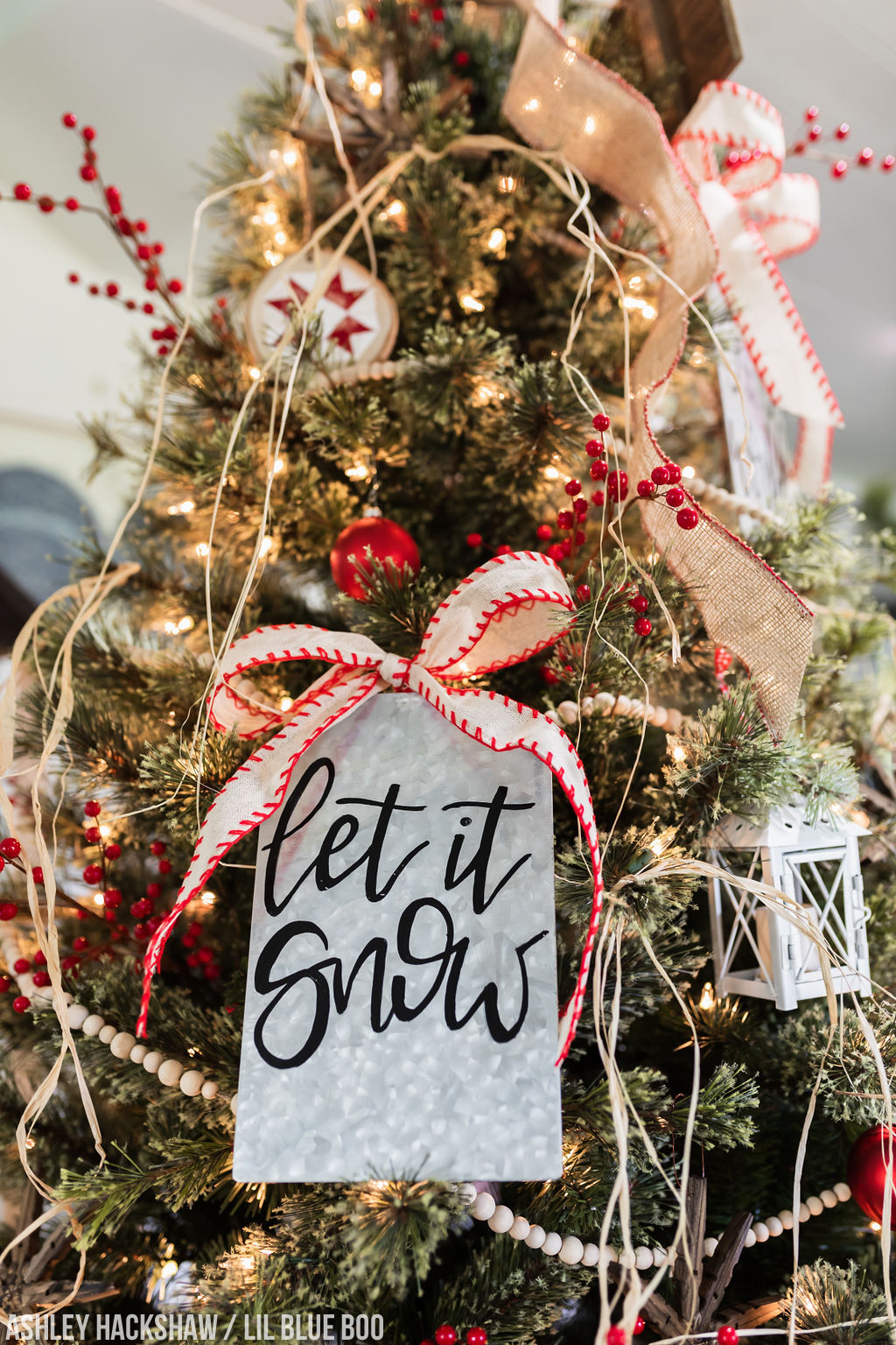 Farm Sweet Farm A Modern Farmhouse Christmas Tree For 2018