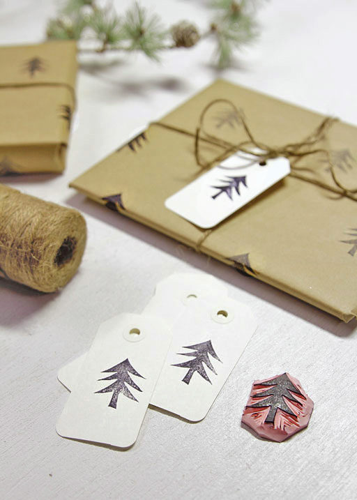 Present Wrapping Ideas - DIY Wrapping Paper