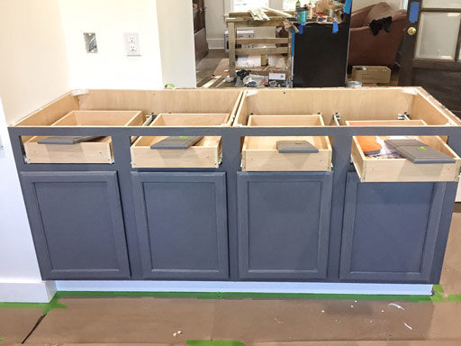 DIY painted cabinet colors - farmhouse cabinet colors