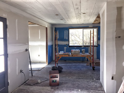 Farmhouse kitchen renovation before photos - new kitchen layout
