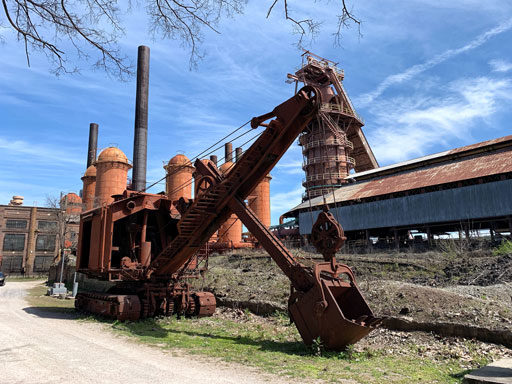A Visit to Sloss Furnaces - National Historic Site - Birmingham