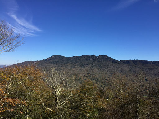 North Carolina mountains is Grandfather Mountain State Park