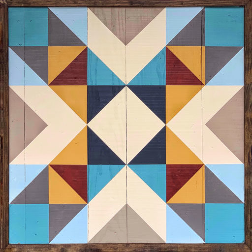 How to Make a Modern Barn Quilt