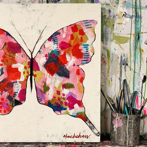 butterfly artwork - butterfly painting