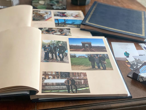 Managing Family Photos - Simple Modern Photo Albums